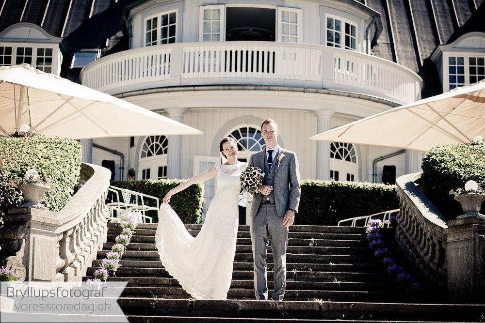 Bryllup Aldershvile Slotspavillon i Bagsværd