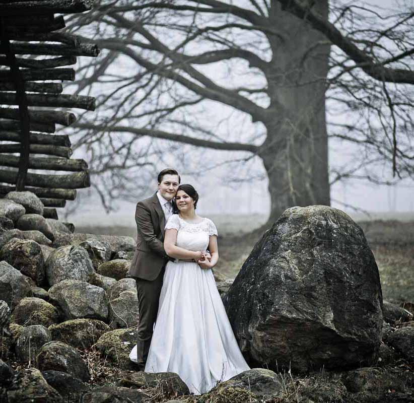 Bryllup i Jehovas Vidners rigssal