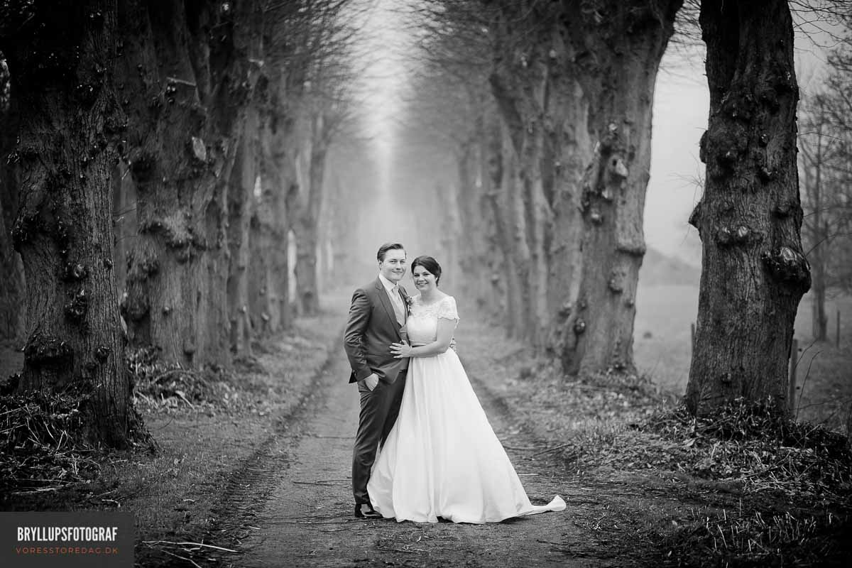 Professionelle og dygtige fotografer Jylland til portrætfoto og bryllupsfoto