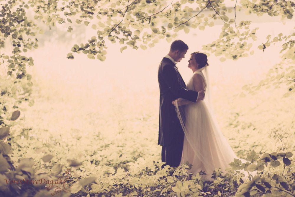 Fotograf til bryllup på Dronninglund Slot