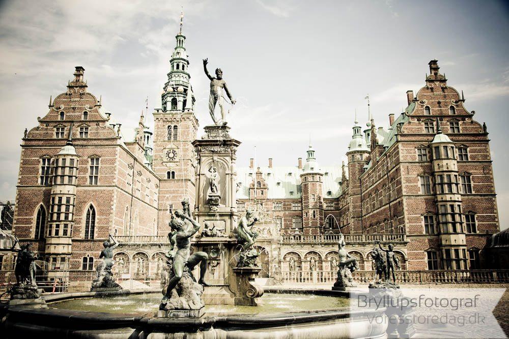 Frederiksborg Slot bryllup