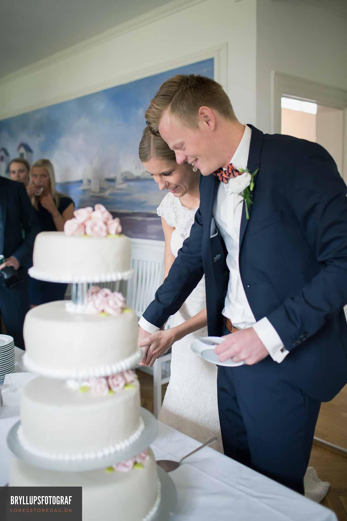 brudepar på Sebber Kloster