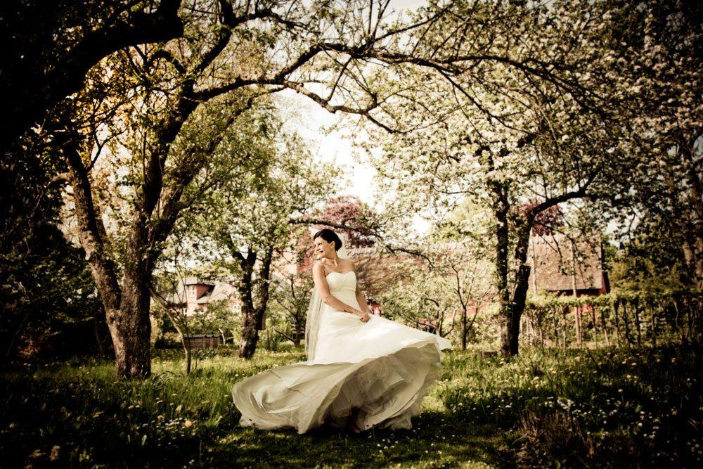 fotografering af bryllupper i Birkerød