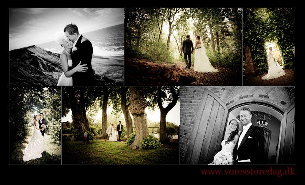Fotograf til bryllup på Fyn