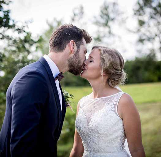 Bryllup ved Tarm, Jylland