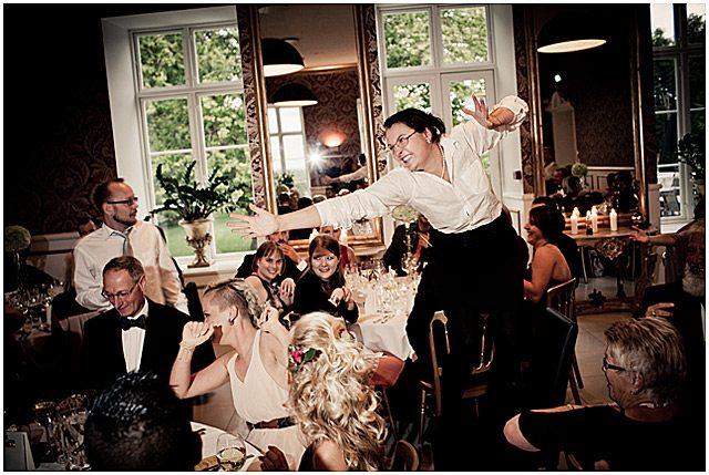 bryllup fotograf på Kokkedal Slot