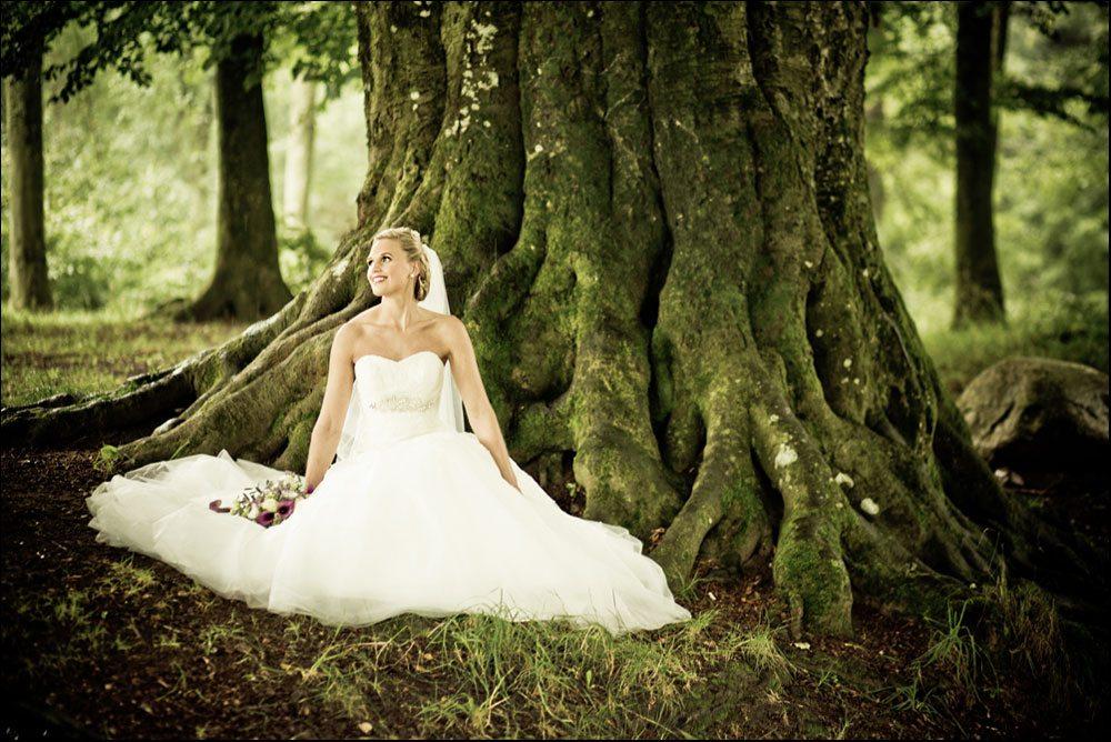 fotograf til bryllupsbilleder i Birkerød