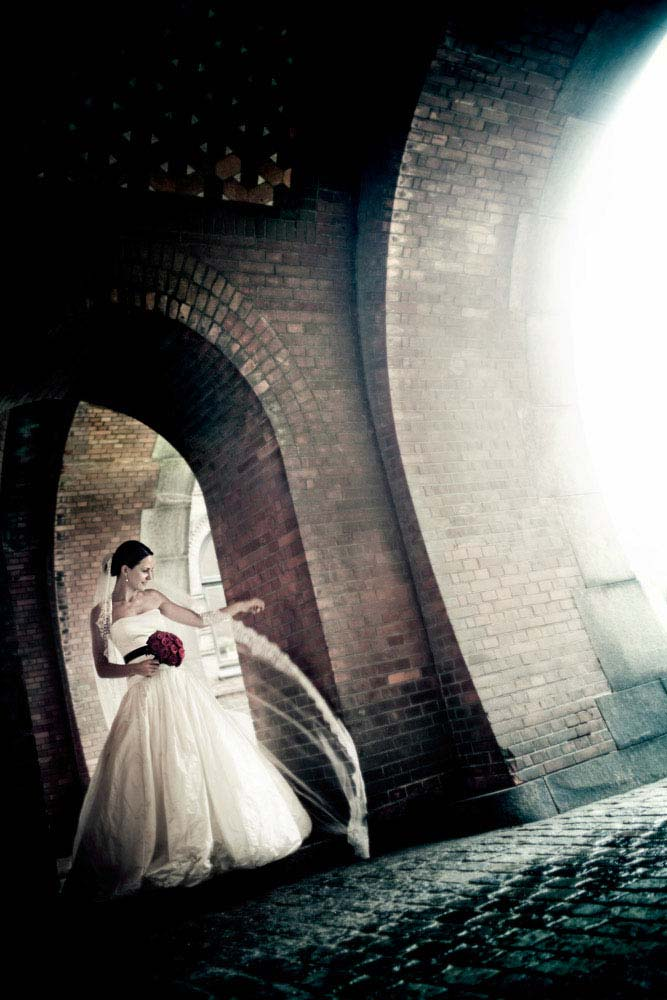 fotograf til bryllup Restaurant de 2 have