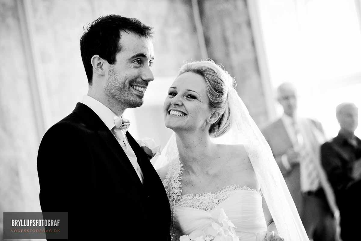 Billeder taget af bryllupsfotograf Søllerød kro