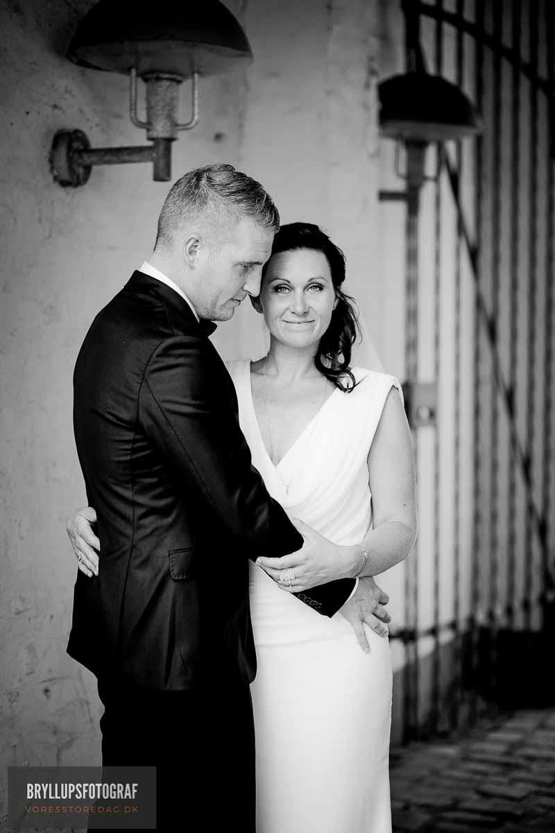 Bryllupsbilleder fra Havreholm Slot