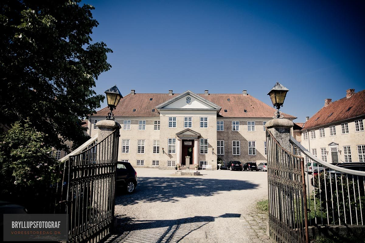 Skjoldenæsholm slot bryllup
