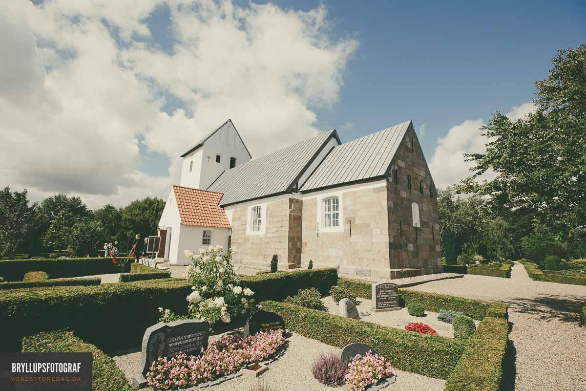 bryllup hovborg kirke