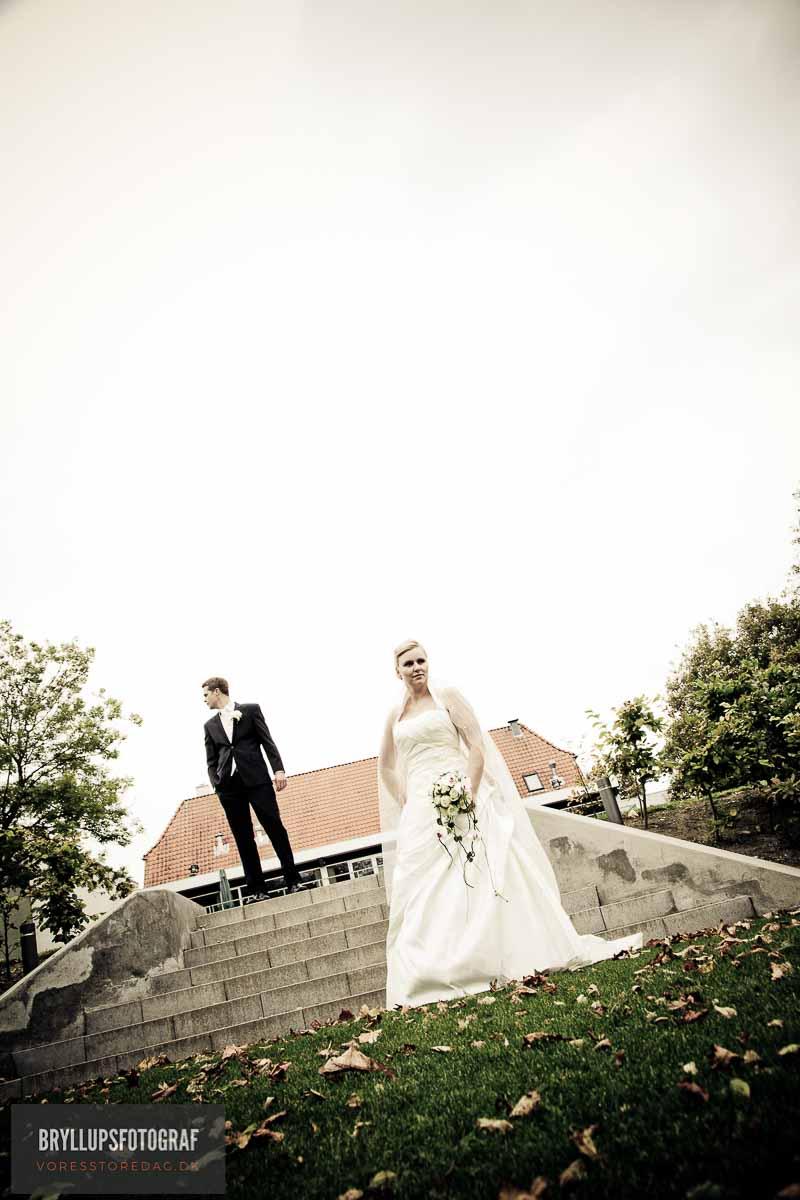 bryllup kjole