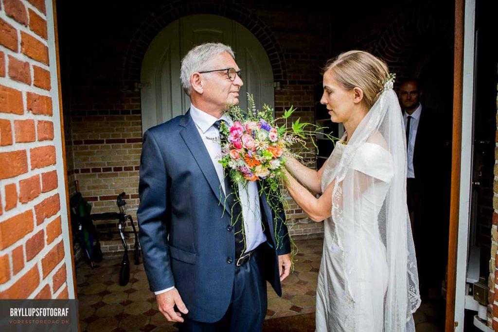 brudens far Vedbæk Kirke