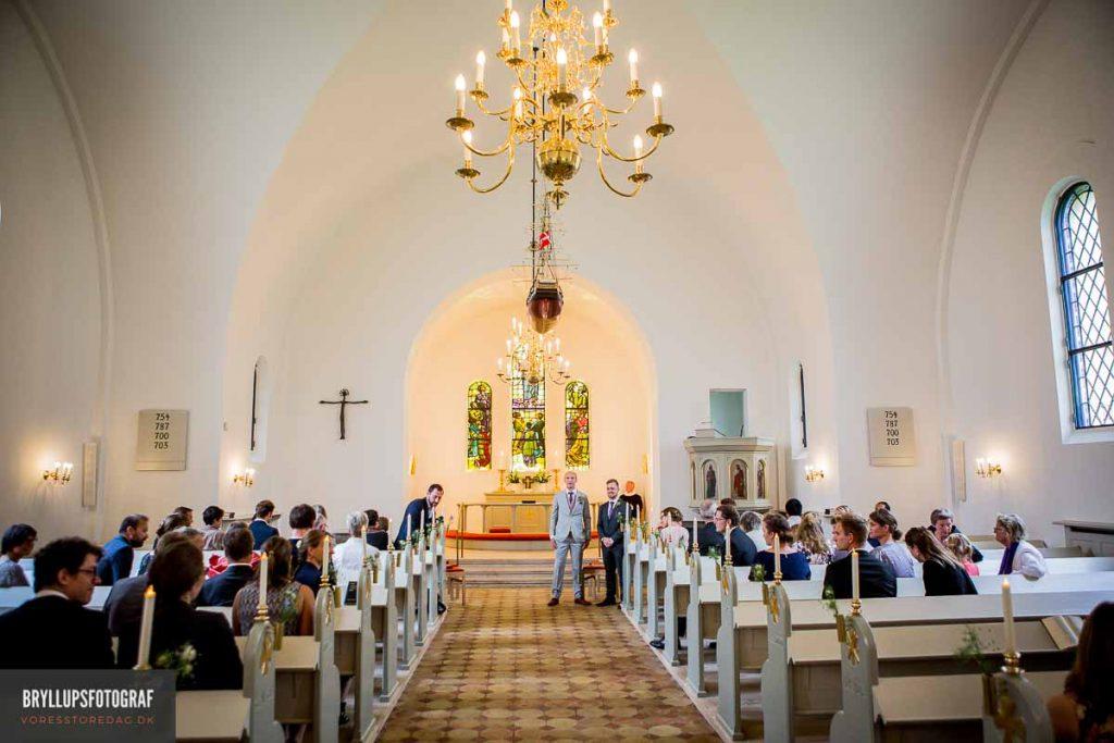 gommen og bestman Vedbæk Kirke