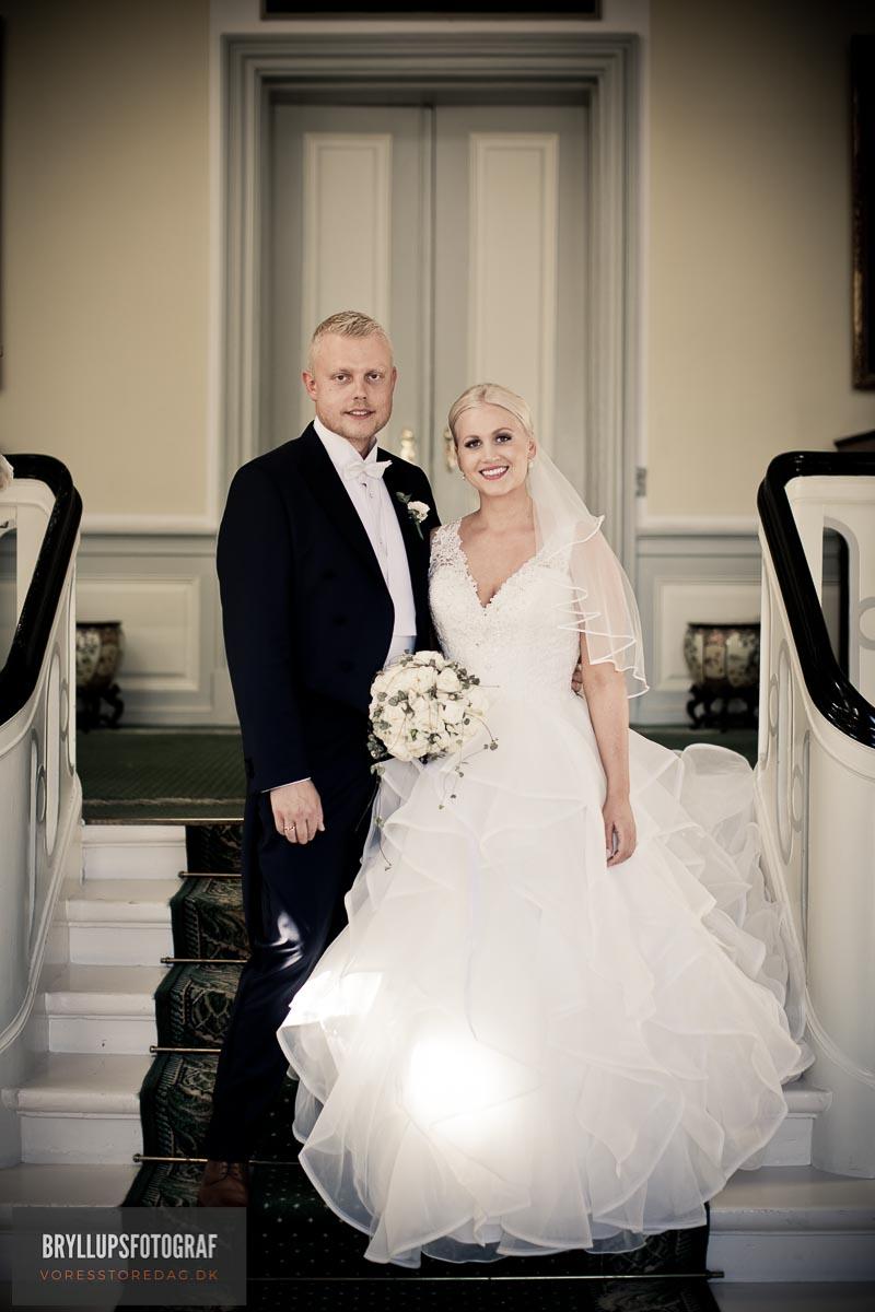 bryllup på Skjoldenæsholm slot