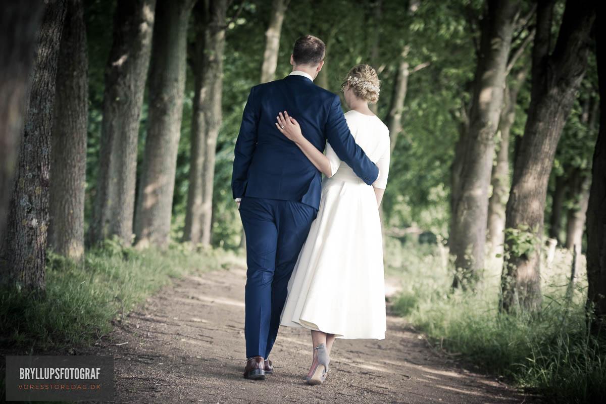 Vielse i Egebæksvangkirke og bryllup Skotterup i Snekkersten