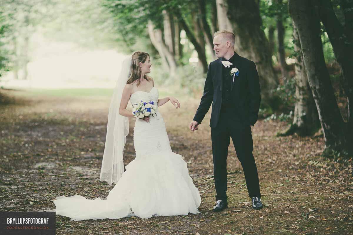 bryllupsbilleder hovborg kirke