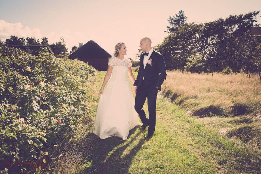 Bryllup Klithuset i Dronningmølle