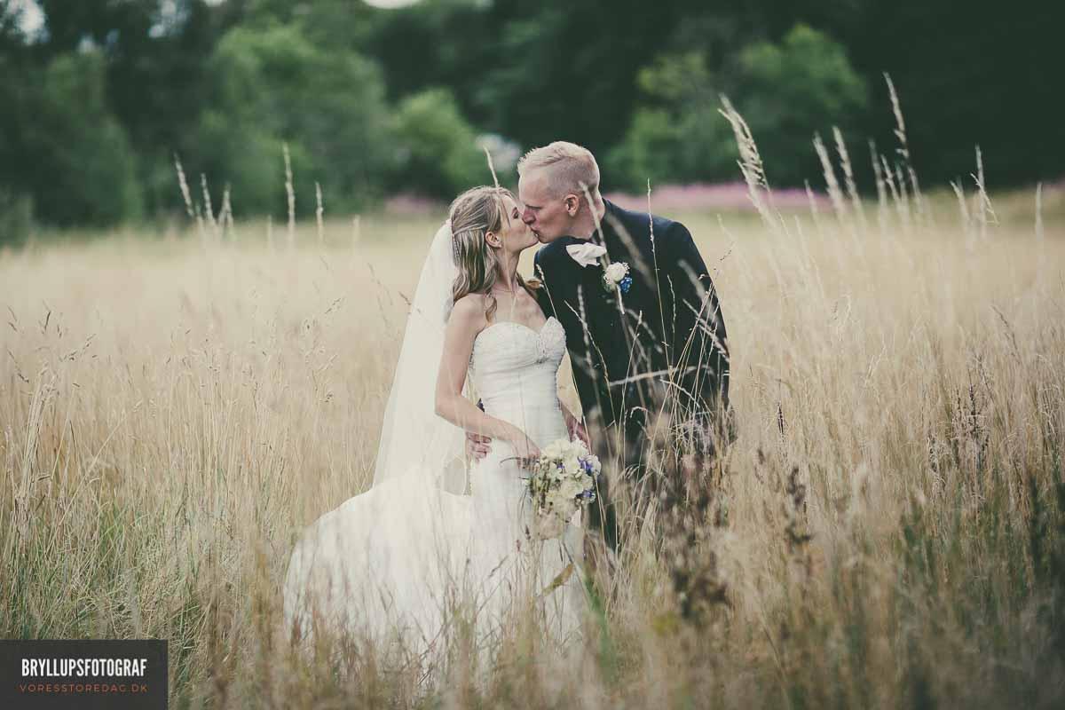 brudepar kys hovborg kro bryllup