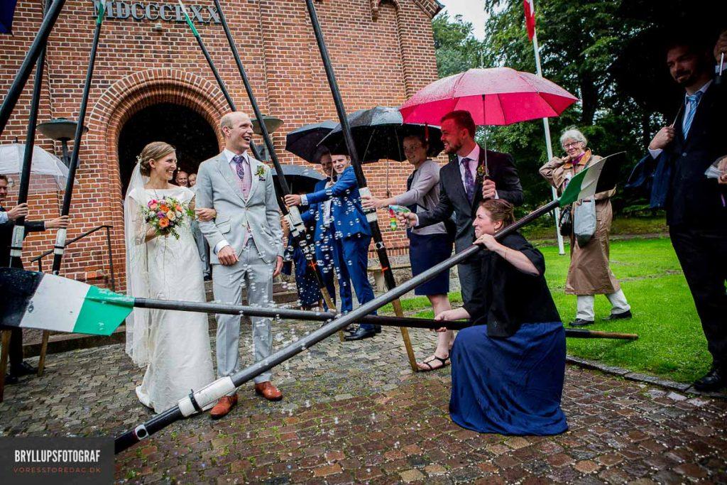 par blev gift Vedbæk Kirke