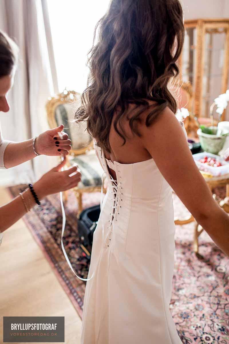 fotograf til bryllup Sonnerupgaard Gods