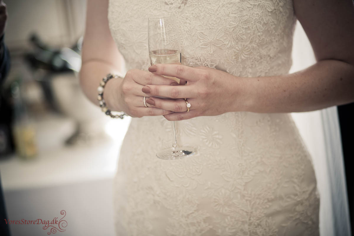 Bryllup på Venge kloster