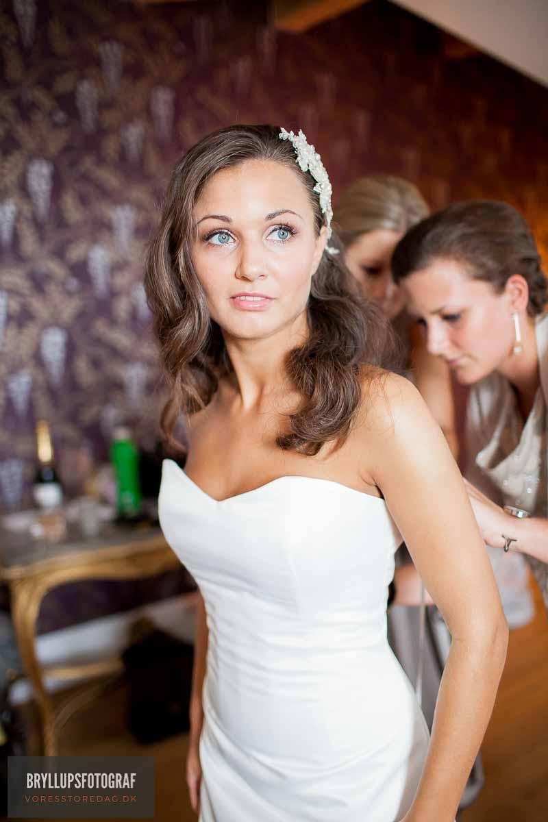 bryllupsfotograf Havreholm Slot