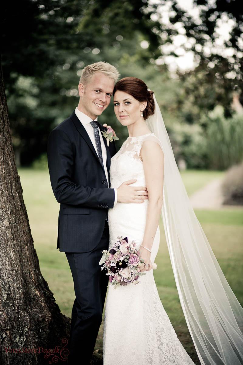 bryllupsfotografering odense i skov