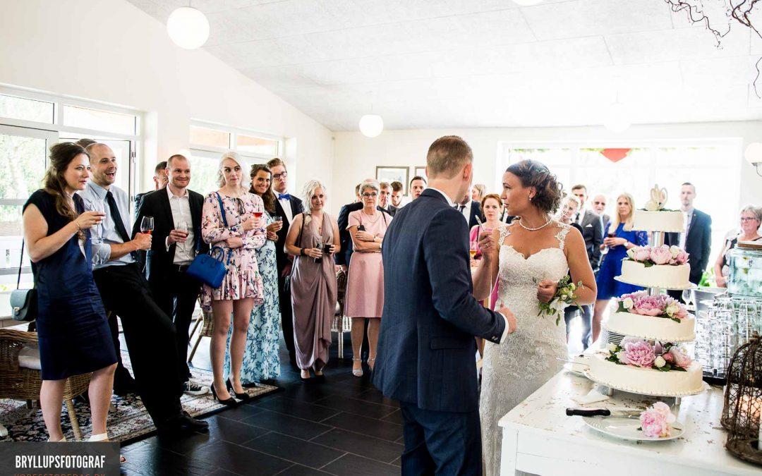Knudhule Badehotel bryllup