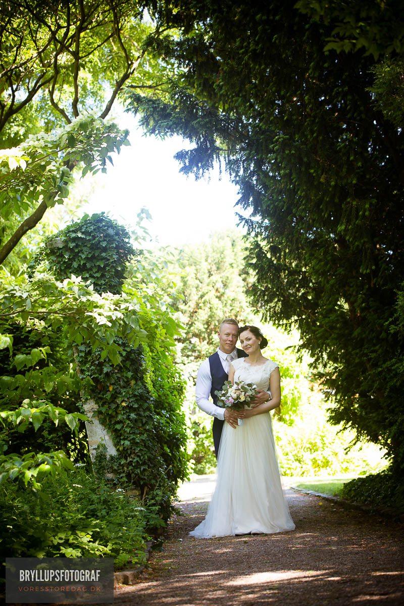 Herthadalen bryllup i Lejre