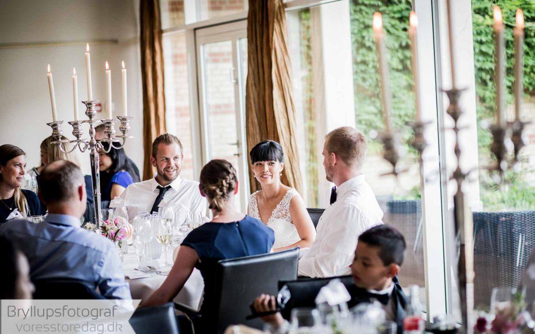 Bryllup på Hotel Vejlefjord i Vejle