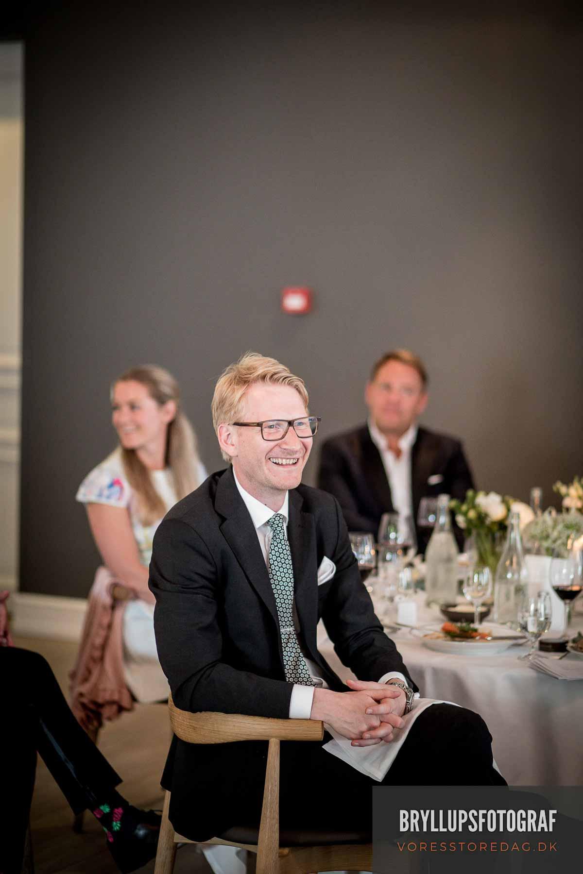 mundtlig kultur Nimb skaber rammen om selskabet, brylluppet