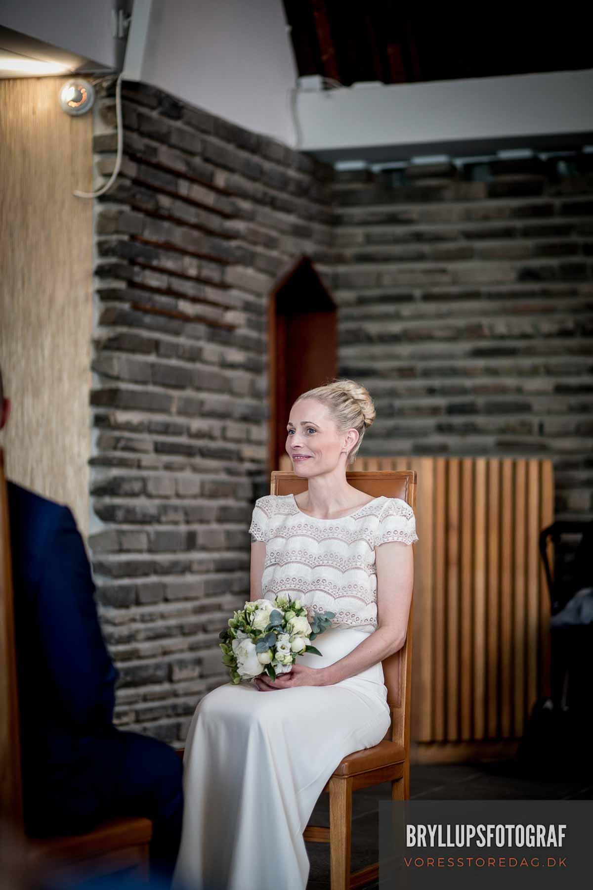 Et bryllup i den norske sømandskirke i københavn