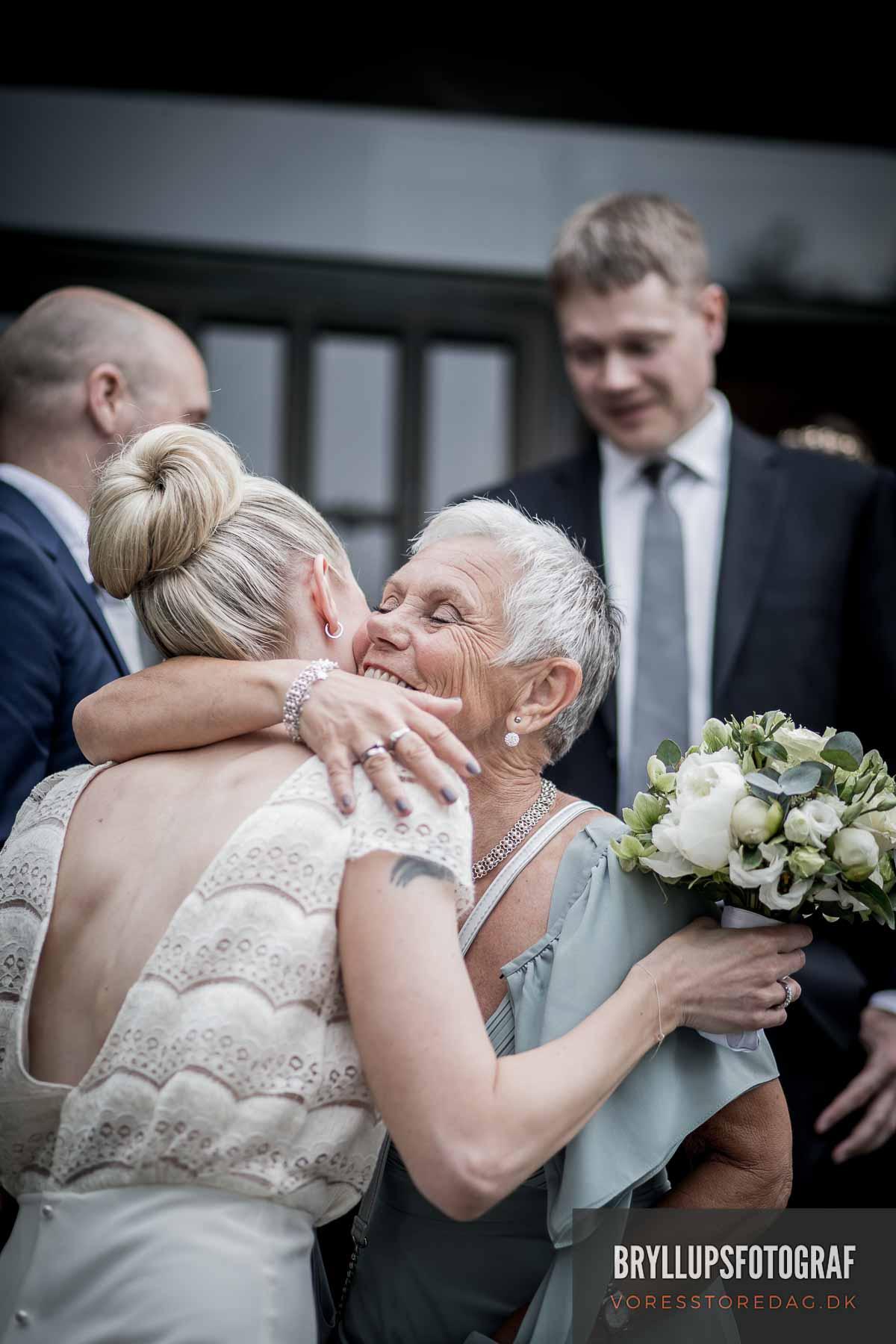 Bryllup i den Norske Sømandskirke KBH.