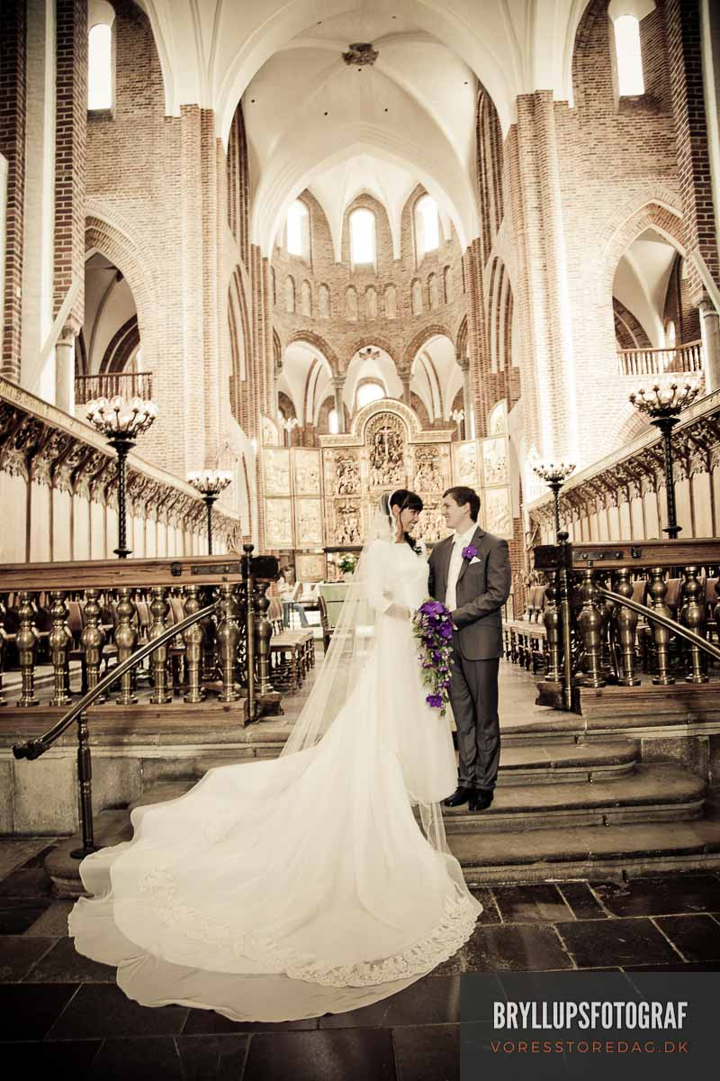 Bryllupsfotografer Aldershvile Slotspavillon