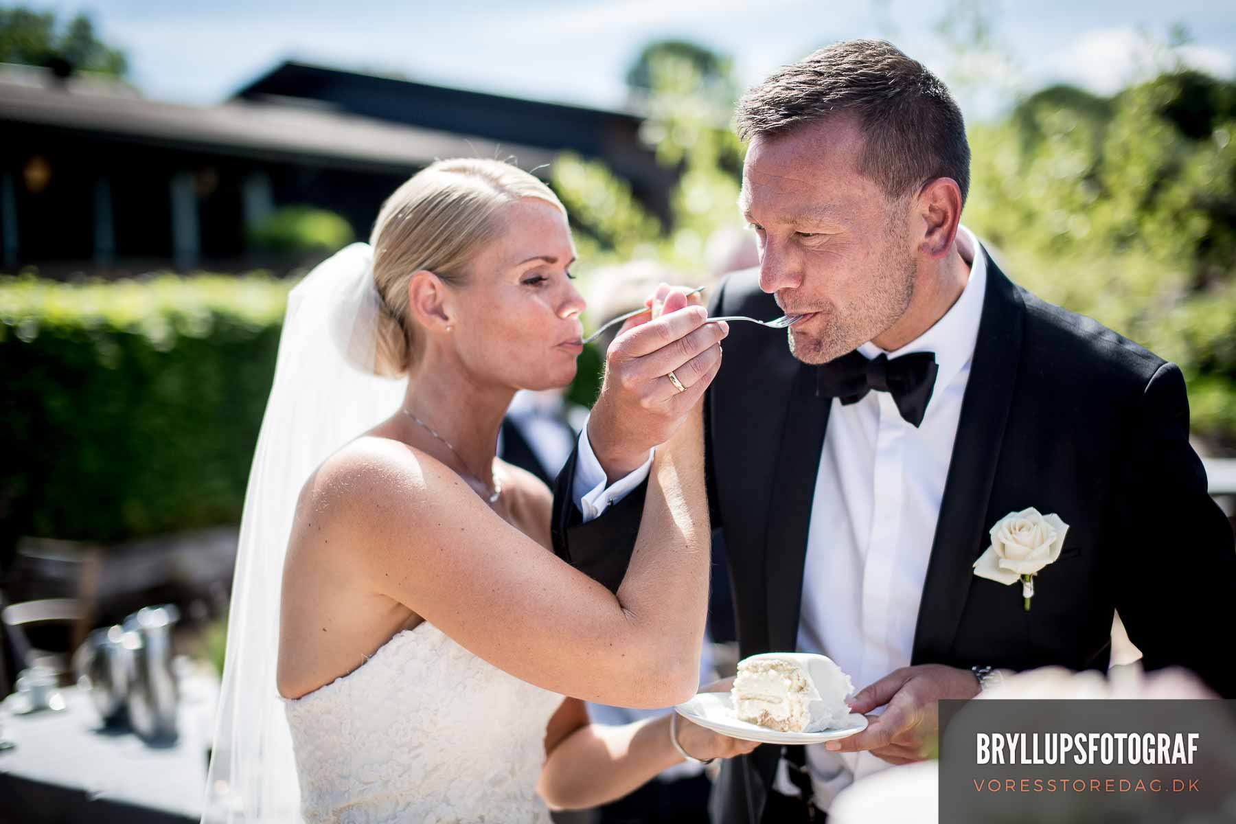 Bryllupsgæsterne overnattede alle på Munkebjerg