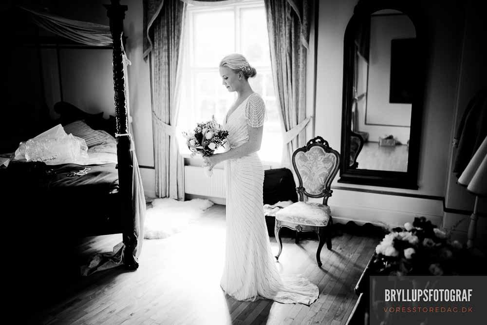 forberedelse bryllup bruden