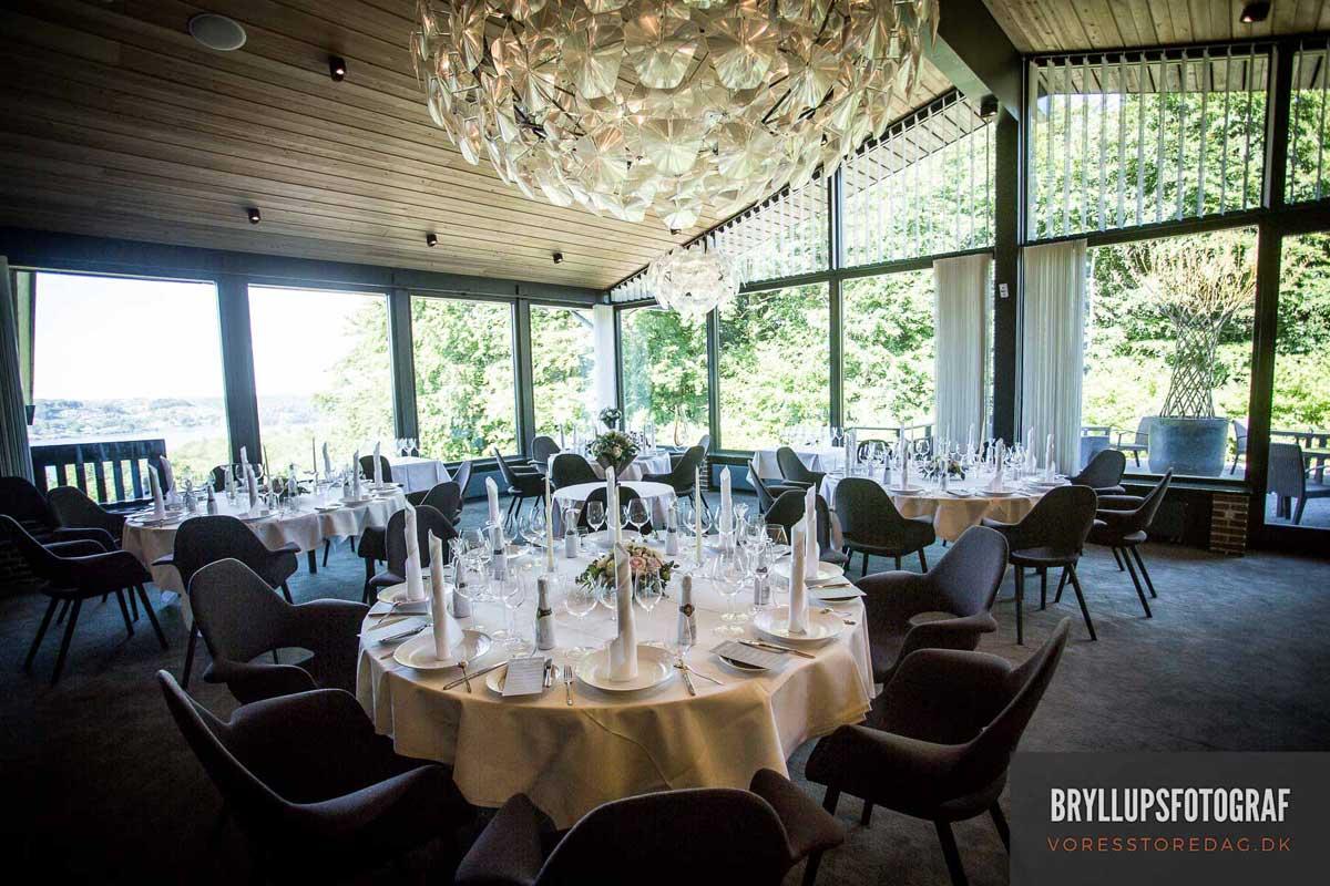 intimt bryllup på HotelMunkebjerg i Vejle.
