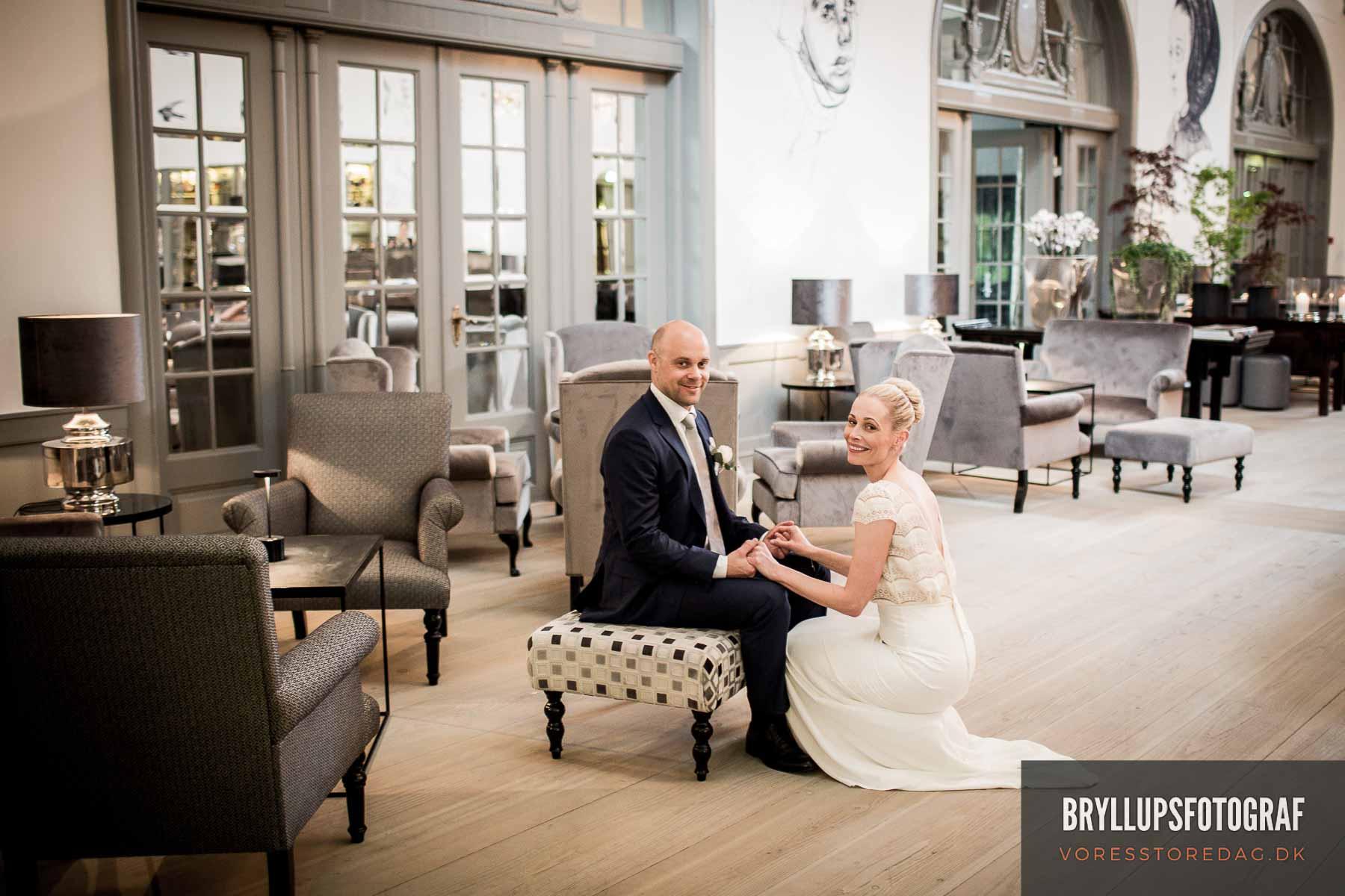 Bryllupsbilleder Nimb København