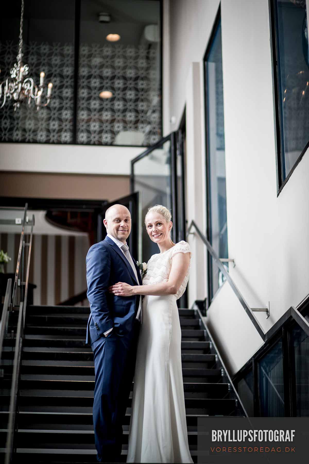 Bryllupsfesten fandt sted på Nimb Hotel i Tivoli