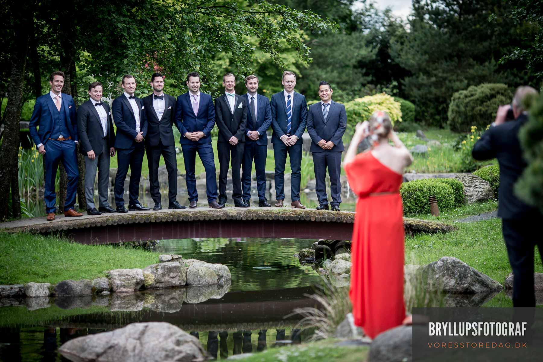 Professionel bryllupsfotograf fra Vejle