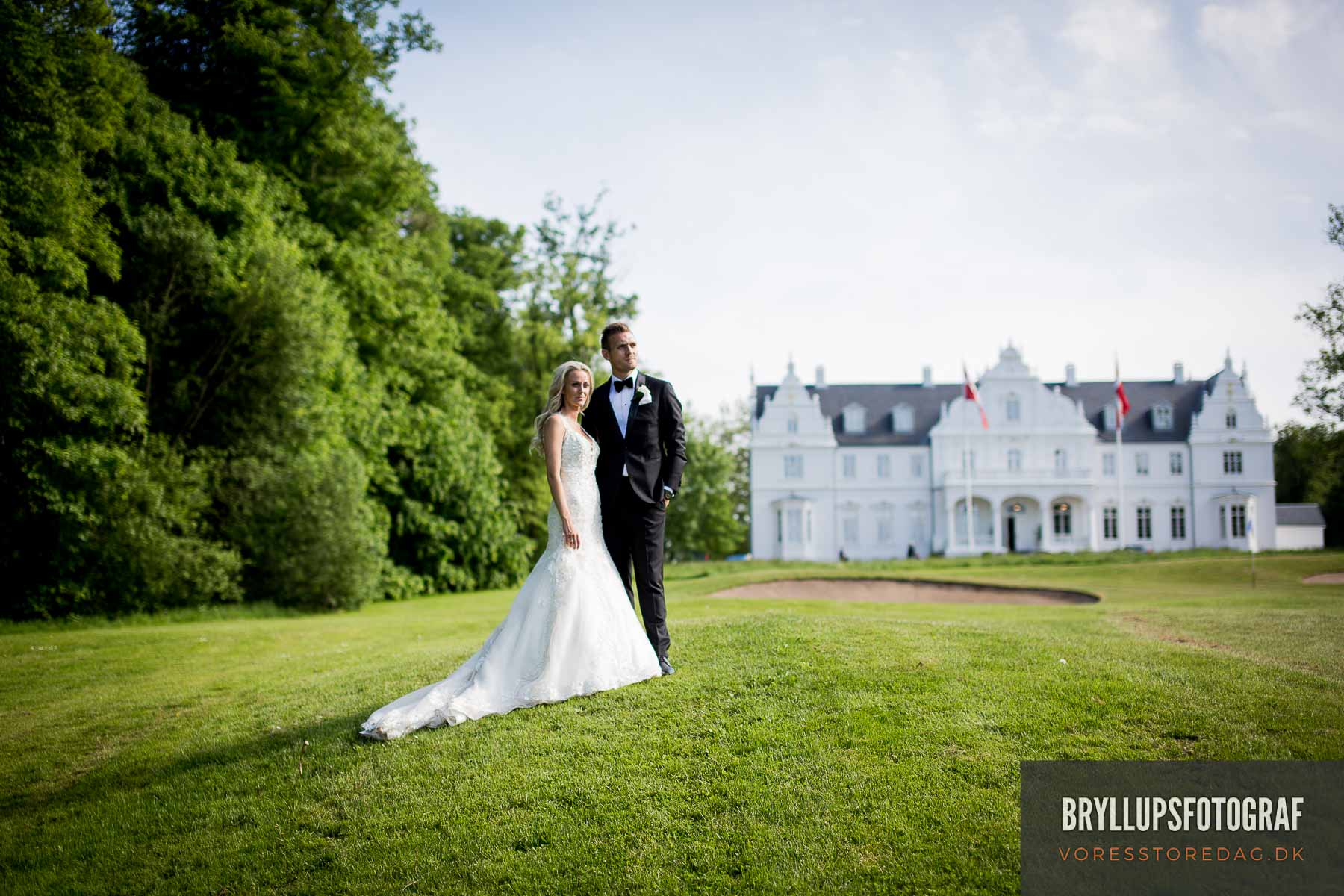 Romantiske & naturlige bryllupsbilleder