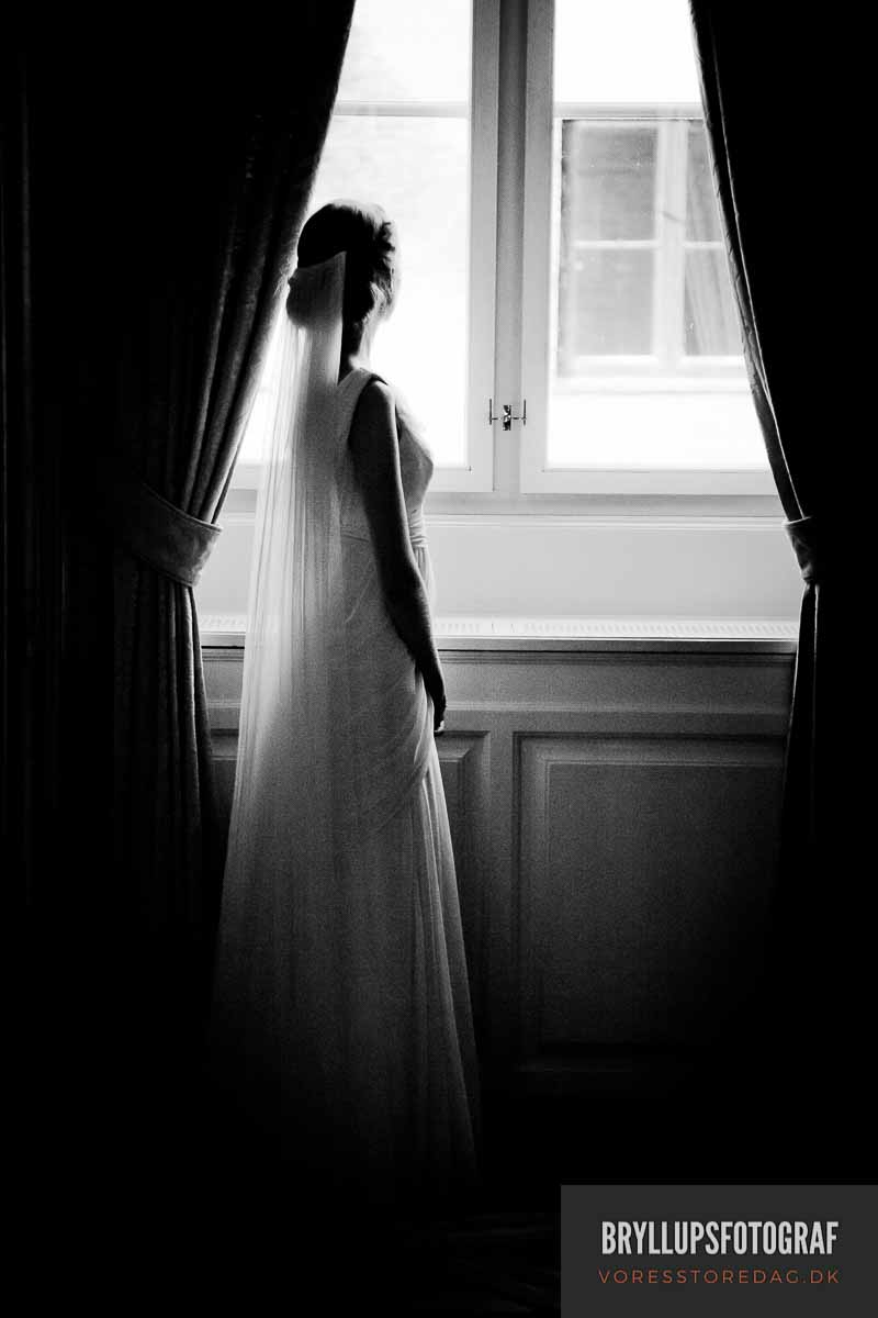 fotograf Havreholm Slot bryllup
