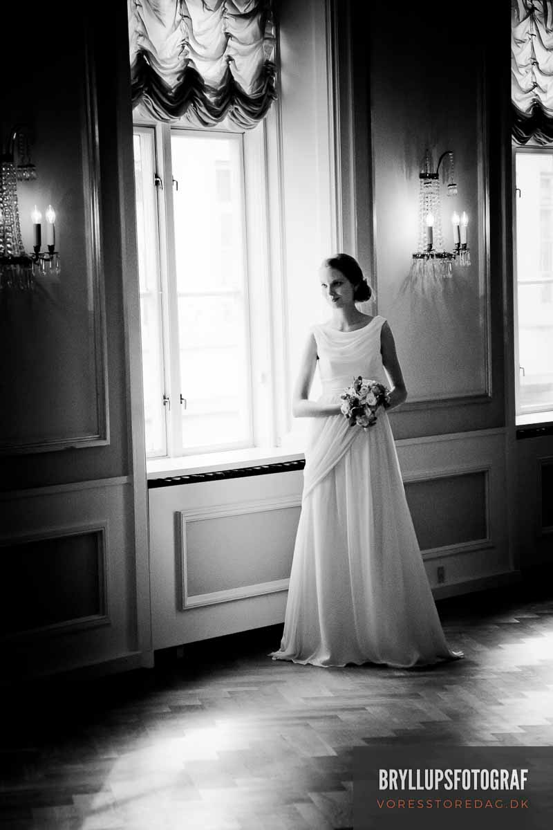 bryllupsfoto priser Koldinghus
