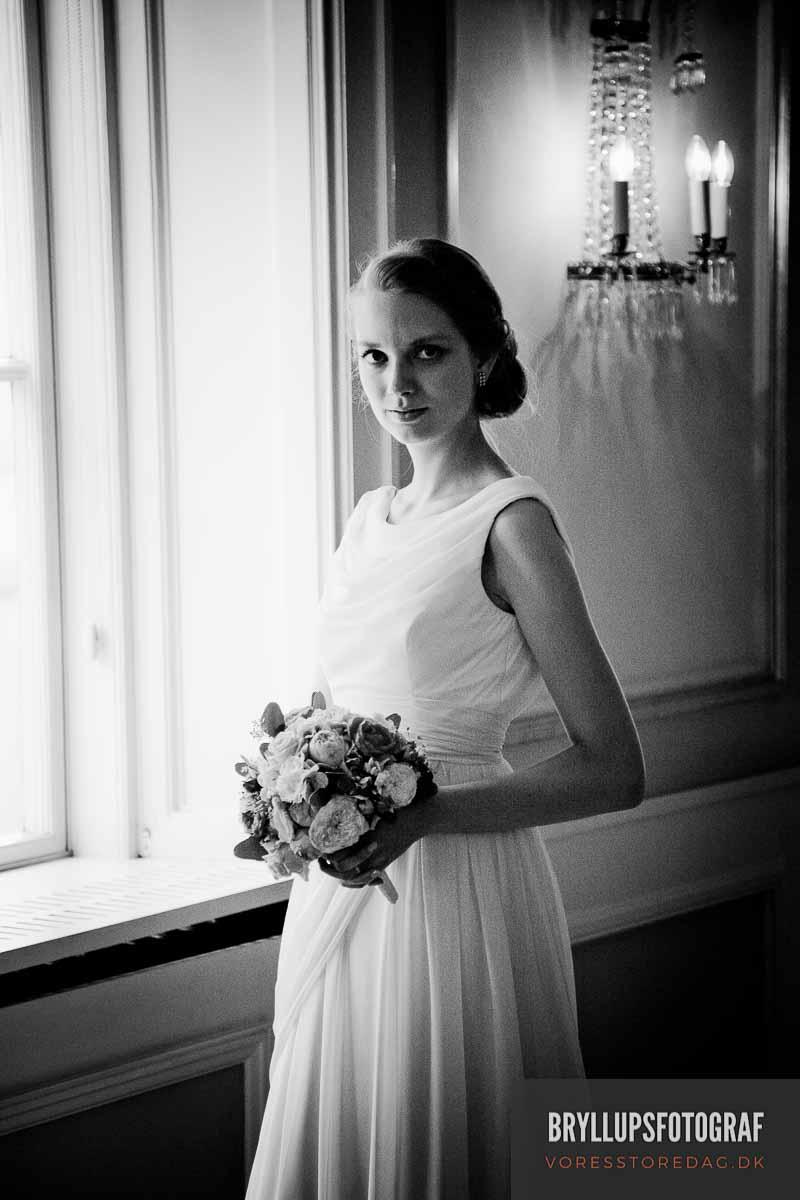 bryllupsfotograf Sjælland Sonnerupgaard Gods
