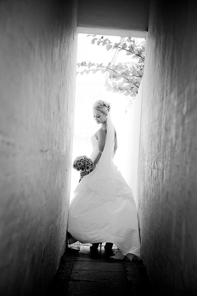 Fotograf bryllup Sebber Kloster