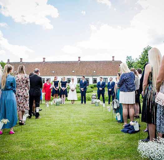 Bryllup Frilandsmuseet og Studenterkilden