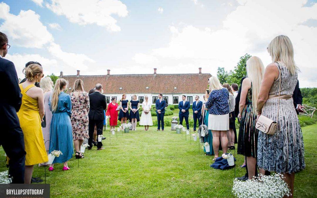 Frilandsmuseet vielse og bryllupsfest på Studenterkilden