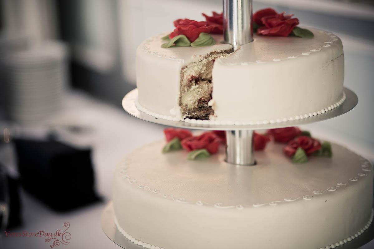 Bryllup på pejsegården